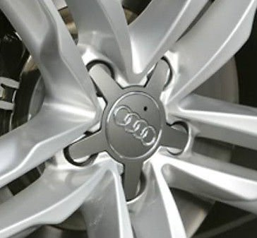 Original Audi A2 A3 Radzierkappe alu-poliert Radabdeckung Kappe Nabenkappe OEM