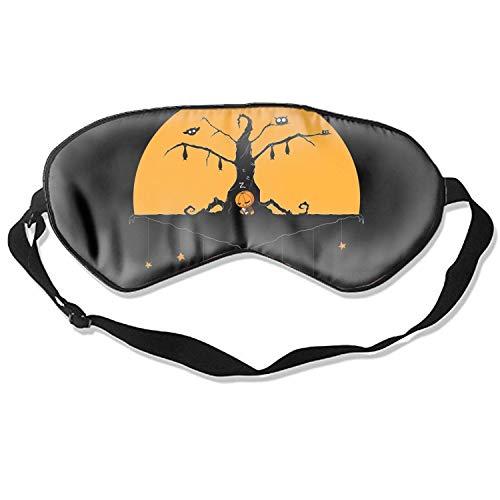 (Schlafmaske, wiederverwendbar, kalt, verbessert den Schlaf, Ödeme, Augen Müdigkeit – Halloween-Kunstwerk)