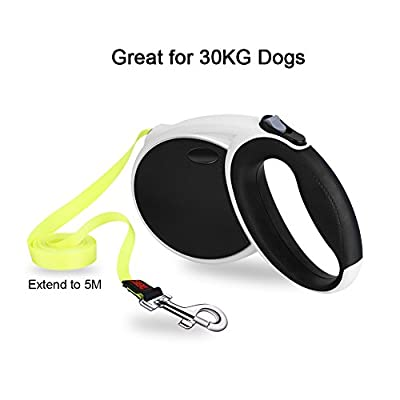 GHB Dog Leads Retractable Extendable Dog Lead 5M for 50KG Dogs