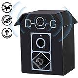 Antiladridos Perros Impermeable Collar de Adiestramiento Dispositivo Anti Barking Ultrasonidos para Perros Control de Corteza para Perros Impermeable 100% Seguro para Mascotas y Humanos Adecuado