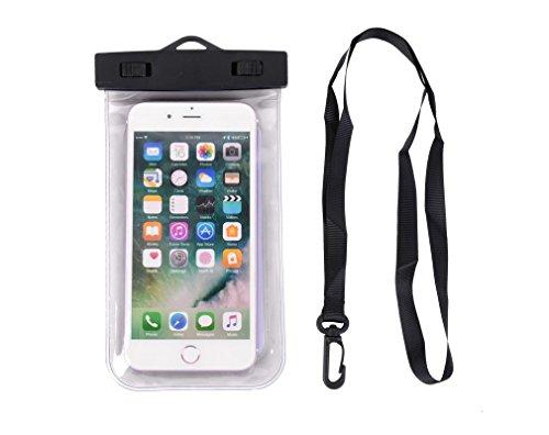 Milabella Wasserdichte Hülle iPhone 8 Zertifiziert IPX8 Tasche für iPhone 8 Wasserdichte Hülle iPhone 8 Wasserdichte Schutzhülle iPhone 8 Wasserdichte Hülle iPhone 8 Transparent