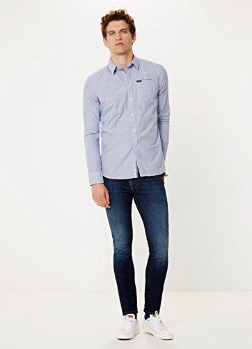 Pepe Jeans Herren Freizeit-Hemd Weiß