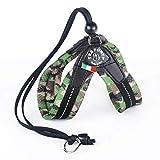 TRE Ponti Easy Fit Soft Mesh mit Kordelzug div. Farben und Größen, Farbe:Camouflage grün, Größe:Gr.2/31-41 cm bis 5 Kg
