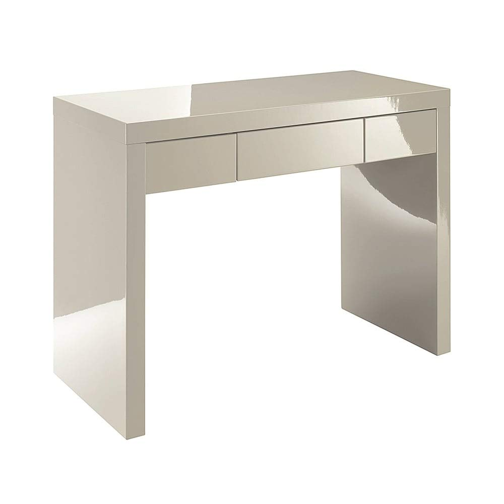 Xpress Delivery Puro Dressing Table In Stone Gloss Best