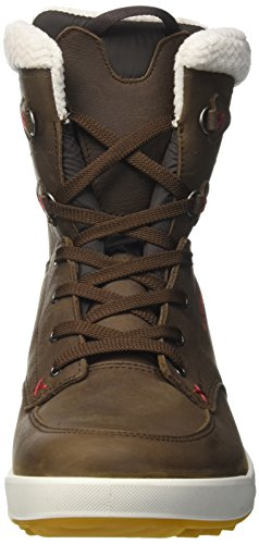 Lowa Melrose Gtx Mid Wms, Stivali da Escursionismo Donna Marrone (Braun/Rot)