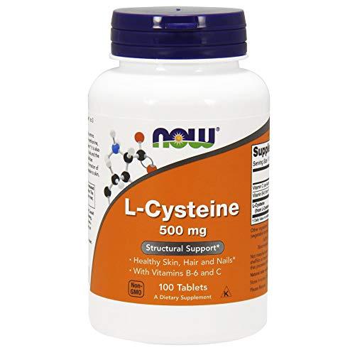 Kollagen 500 Mg 60 Tablette (Now Foods | L-Cystein | 500 mg | 100 vegane Tabletten | glutenfrei)