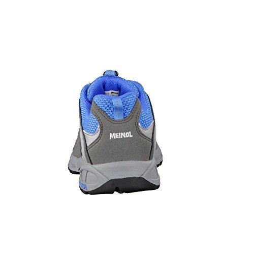 Meindl Respond Junior 680130, Unisex - Kinder Trekking- und Wanderschuhe Hellblau/Grau
