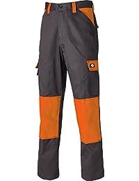 Dickies ED24/7S GYO 36 Everyday Pantalon Taille 25 Gris/Orange