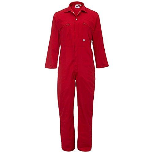 Damen Heavy Duty Overall Reißverschluss vorne Workwear Boiler Suit Overall Overall TUF Gr. 40 L, (Royal Blue Womens Jumpsuit)