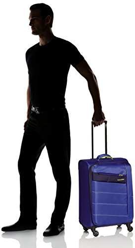 Travelite Kite 4w Trolley M, Erweiterbar, 87148-21, Koffer, 64 cm, 77 L, Royal Blau -