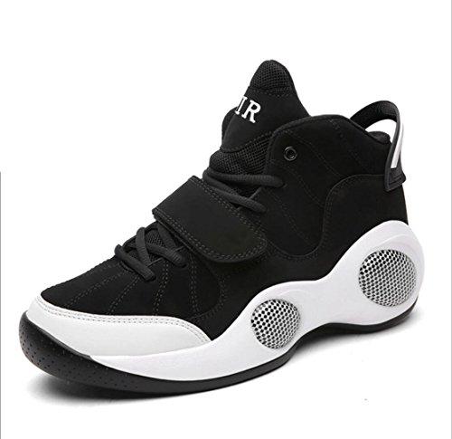 WSK Neue Männer Schuhe Basketballschuhe Laufschuhe Outdoor-Größe Sportschuhe 39-48, Black, 40 - 13 Größe Saucony Herren