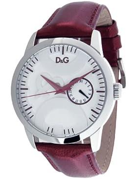 D&G Dolce&Gabbana Unisex-Armbanduhr Analog Quarz Leder DW0701