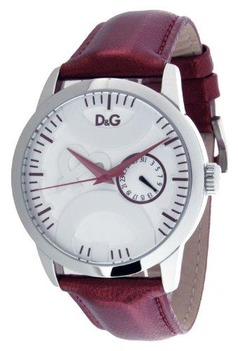 D&G Dolce&Gabbana Men's Quartz Watch DW0701 with Leather Strap