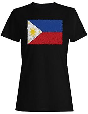 Nueva Bandera De Philippine Art camiseta de las mujeres i231f