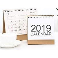 iPenty Starter Planificador De Calendario De Escritorio - Escritorio Flip Calendar Stand Up Planificador De Escritorio De Oficina, 15.1 * 16.5cm Hogar, Oficina, Dormitorio, Restaurante, Etc.