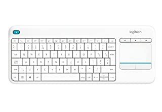 Logitech K400 Plus Wireless Touch Keyboard for Windows, Android and