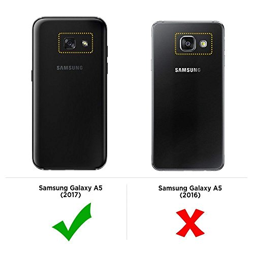 newest 63697 489e3 IND 0.3Mm Ultra Thin Transparent Silicon Back Cover For Samsung Galaxy A5  2017