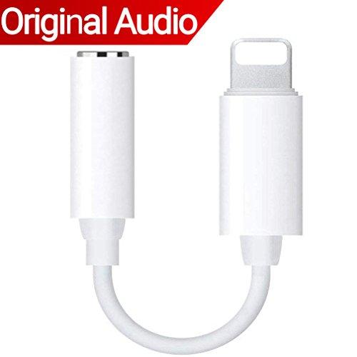 THYTOB Dual Lightning Adapter & Splitter für iPhone X, iPhone 8/8Plus. iPhone 7/7Plus weiß 3-White