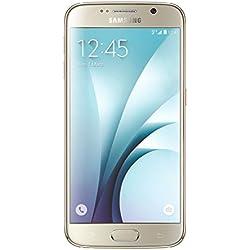 Samsung Galaxy S6 Smartphone débloqué 4G (32 Go - Ecran : 5,1 pouces - Simple SIM - Android 5.0 Lollipop) Or