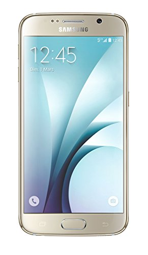 Samsung Galaxy S6 4 g Smartphone UNLOCKED (32 GB-Display: 5,1 Zoll Einfache SIM-Android Lollipop 5.0)