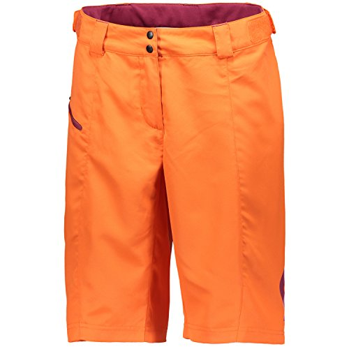 Scott Trail 30-Pantaloni corti da bicicletta arancione 2017, carrot orange/plum violet, x L (44/46)