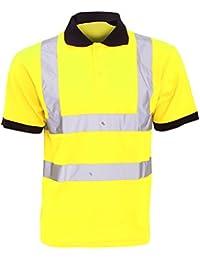Yoko Hi-Vis Short Sleeve Polo Shirt / Mens Workwear