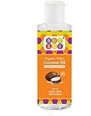 Beybee Extra Virgin Organic Coconut Oil for New Born Babies, 200ml