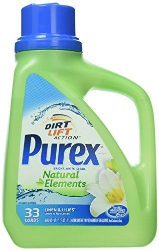 purex-natural-elements-laundry-detergent-liquid-linen-lilies-50-fl-oz-by-dial-corporation