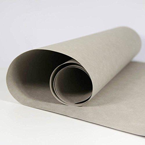 SnapPap grau - Papier in Lederoptik Kreativpapier Waschbares Papier (Papier Verstärkungen)