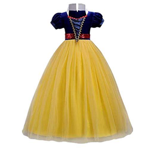 Paar Cosplay Ideen - Dasongff Cinderella Kostüm Kinder Prinzessin Kleid