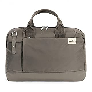 Tucano Agio 15 Bag for 15-Inch MacBook Pro and 15.6-Inch Ultrabook - Dove/Grey