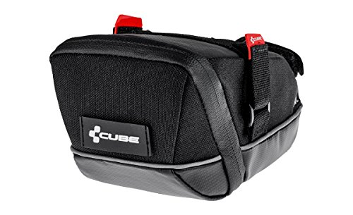 Cube Pro L Fahrrad Satteltasche schwarz - Fahrrad Cube