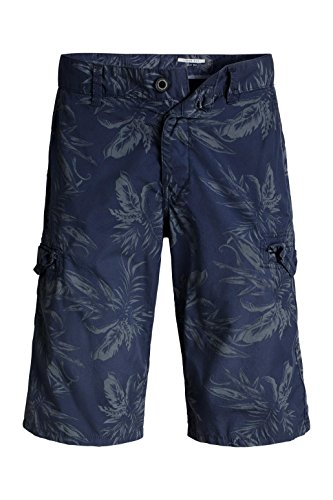 edc by ESPRIT Herren Shorts Blau (DARK BLUE 405)