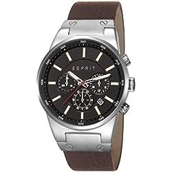 Esprit Herren-Armbanduhr Chronograph Quarz Leder ES107961004