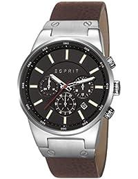 Esprit Herren-Armbanduhr Equalizer Chronograph Quarz Leder ES107961004