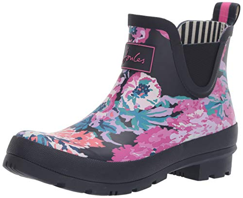 Joules Wellibob, Damen Gummistiefel, Blau (Navy All Over Floral Navaoflrl), 42 EU (8 UK)