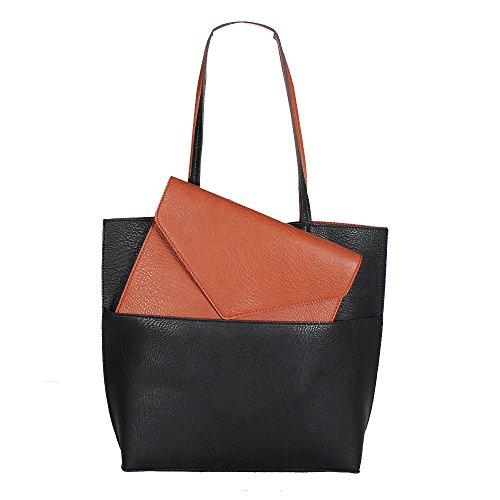 street-level-7269-reversible-2in1-damen-tote-bag-black-brown