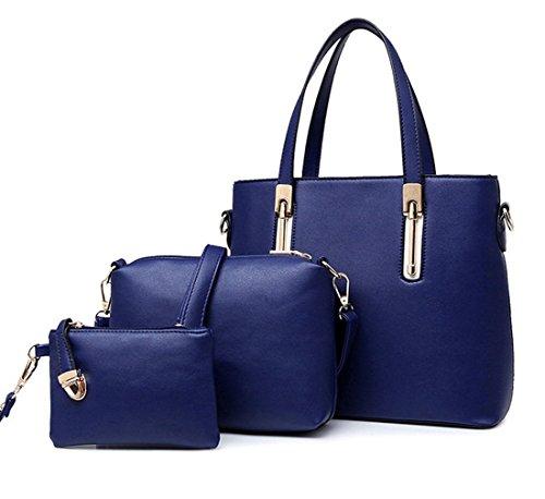 Yiyida, Borsa a mano donna blu Blue Blue
