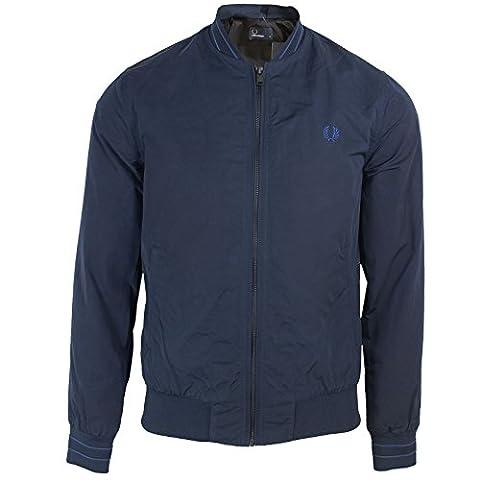 Fred Perry Herren Jacke blau blau Gr. XL, blau