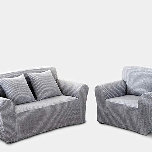 Sqinaa cotone,fodera per divano a righe protettore di animali domestici bambini divano letto cuscino per 1 pezzo morbido divano copre-b