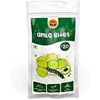 GO DESi Dried AmlaBites (280 gm) - Pack of 8 Pouches