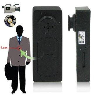 Mini tragbar Kamera Spion Knopf Karte SD von DV Camcorder mit 720x 480Camcorder Video Recorder Knopf Kamera Lochkamera Sicherheit Versteckt Kamera 720 X 480 Video -