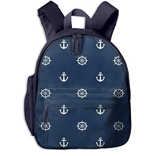 Kinderrucksack Kleinkind Jungen Mädchen Kindergartentasche Strandboot Lenkrad Backpack Schultasche Rucksack