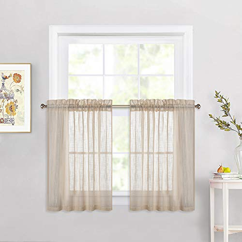NICETOWN Sheer Curtains for Smal...