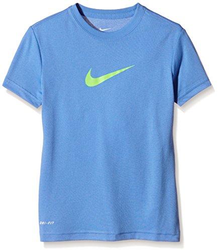 Nike Mädchen Oberbekleidung Shortsleeve Legend Tee Kurzarmshirt, Chalk Blue, L