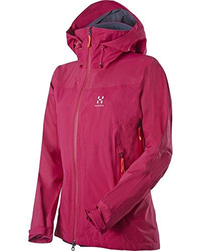 Haglöfs Damen Ski Jacke Skra Q Jacket Volcanicpink S