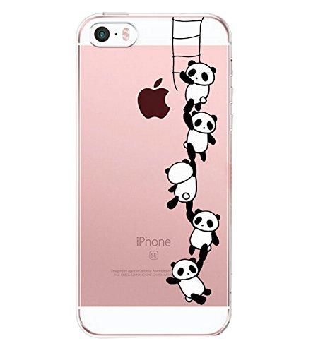 custodia iphone se panda