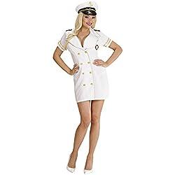 Librolandia - Disfraz de capitán de barco para mujer, talla M (S/77482)