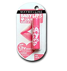 Pink Lolita : Maybelline Baby Lips Color SPF 16 Lip Balm 4.5g :Pink Lolita