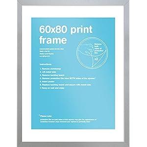 GB Eye Bilderrahmen, 60 x 80 cm, Silber